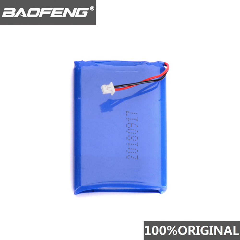 100% Original Baofeng T1 Walkie Talkie Battery BF-T1 Portable Woki Toki Accessories Pofung BF-9100 Two Way Radio Batteries Bf T1