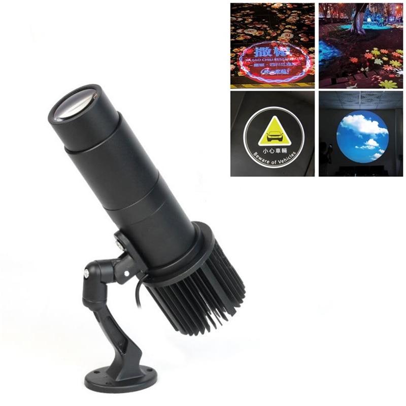 GYLBAB Z7 Logo Indoor Gobo Film Projector Projection Spot Light Lamp Advertising Customized Static Design 110v 220v