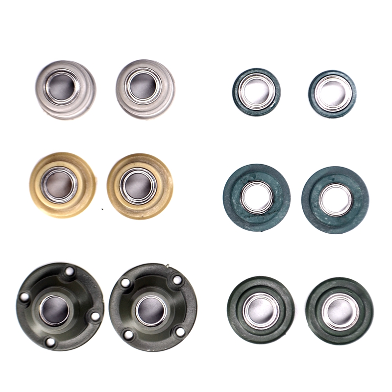 2Pcs Drive Shaft Bearing Spare Parts For 1/16 Heng Long RC Tank Model 3938/3918/3908/3899/3889/3818 Tiger 99A T90 2A6