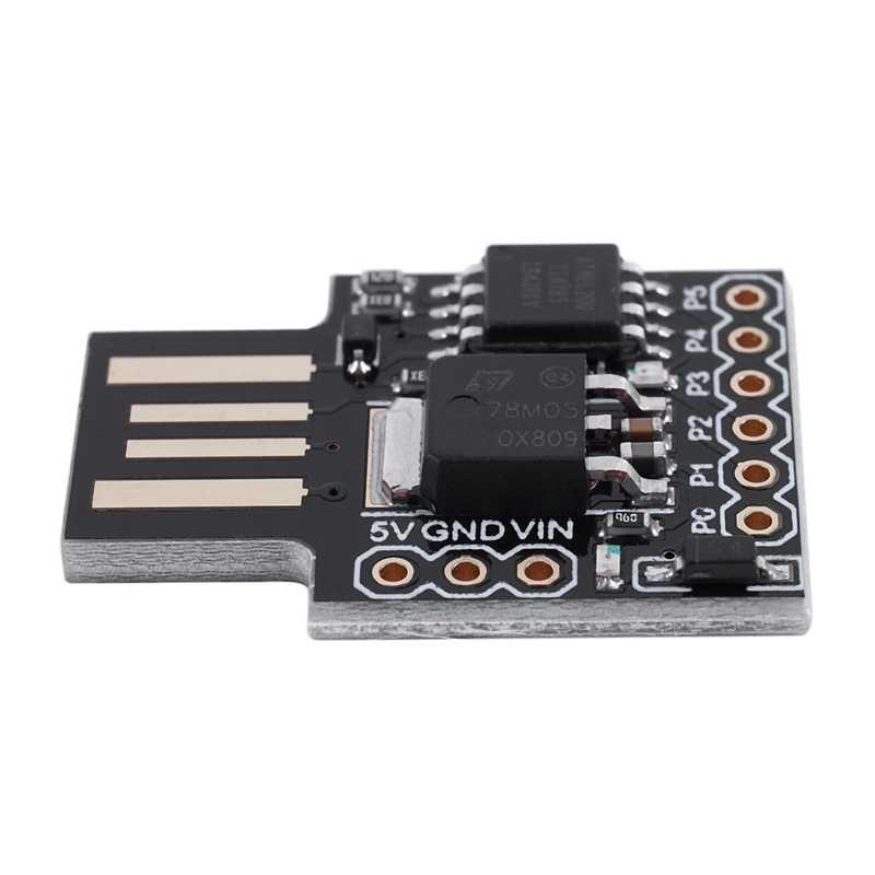 Blau Mini ATTINY85 Micro  USB Einzelmaschine Entwicklungsboard Modul