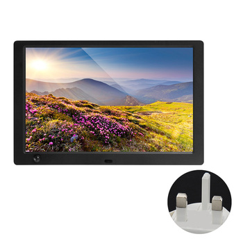 Music Video Player Calendar USB  Card 1280x800 Automatic Timer 10.1 Inch Digital Photo Frame IPS Display Remote Control