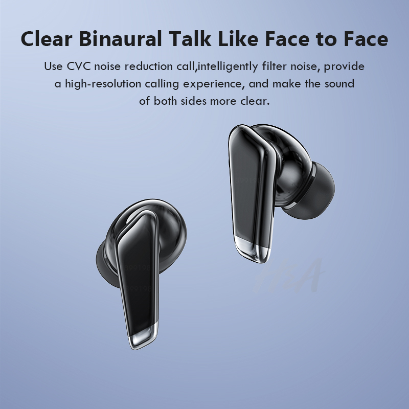 Mini Bluetooth Earphone with LED Power Display 24h Play Time Wireless Headphones Bluetooth Earbud Touch Control Sport Waterproof 6