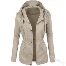 2019 Autumn Winter Jacket Women Coat Casual Girls Basic Zipper Cardigan Long Sleeve Jacket Female Coats Plus Size Outwear 5XL цена и фото