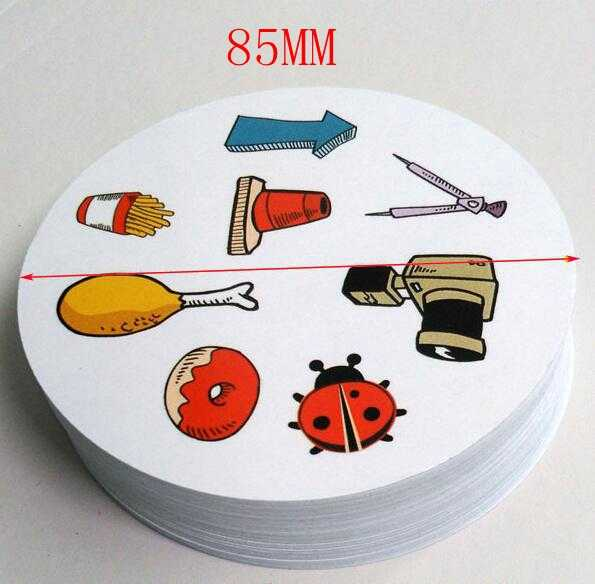 Ukuran Besar 85 Mm Tempat Permainan Papan Mini 55 Kartu untuk Anak-anak Seperti Klasik Pendidikan Permainan Kartu Rumah pesta Permainan Lucu