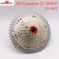 SunRace 11 Speed 10 46T bike bicycle mtb XD Cassette flywheel for fits XD hubs only|Bicycle Freewheel| |  -