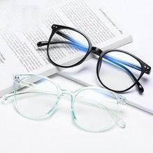 Lunettes de bureau Anti-lumière bleue, surdimensionnées, rétro, blocage bleu, jeu, grande taille, monture de lunettes, 2021