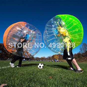 Free Shipping 1.0mm TPU Inflatable Zorb Ball 1.0m 1.2m 1.5m 1.7m Bubble Soccer Ball Air Bumper Ball Bubble Football inflatable football ball inflatable soccer ball game for adults and kids