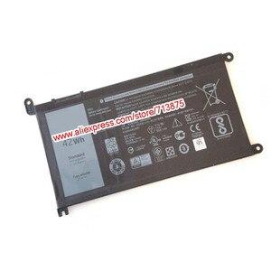 Image 2 - Batería Original 11,4 V 42Wh T2JX4 WDXOR WDX0R para Dell Inspiron 13 5378 7368 13 5368 15 5567 5538 5568 7560 14 7000 7472