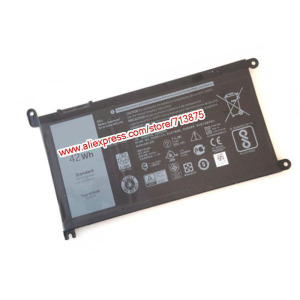 Image 2 - Original 11.4V 42Wh T2JX4 WDXOR WDX0R Battery for Dell Inspiron 13 5378 7368 13 5368 15 5567 5538 5568 7560 14 7000 7472