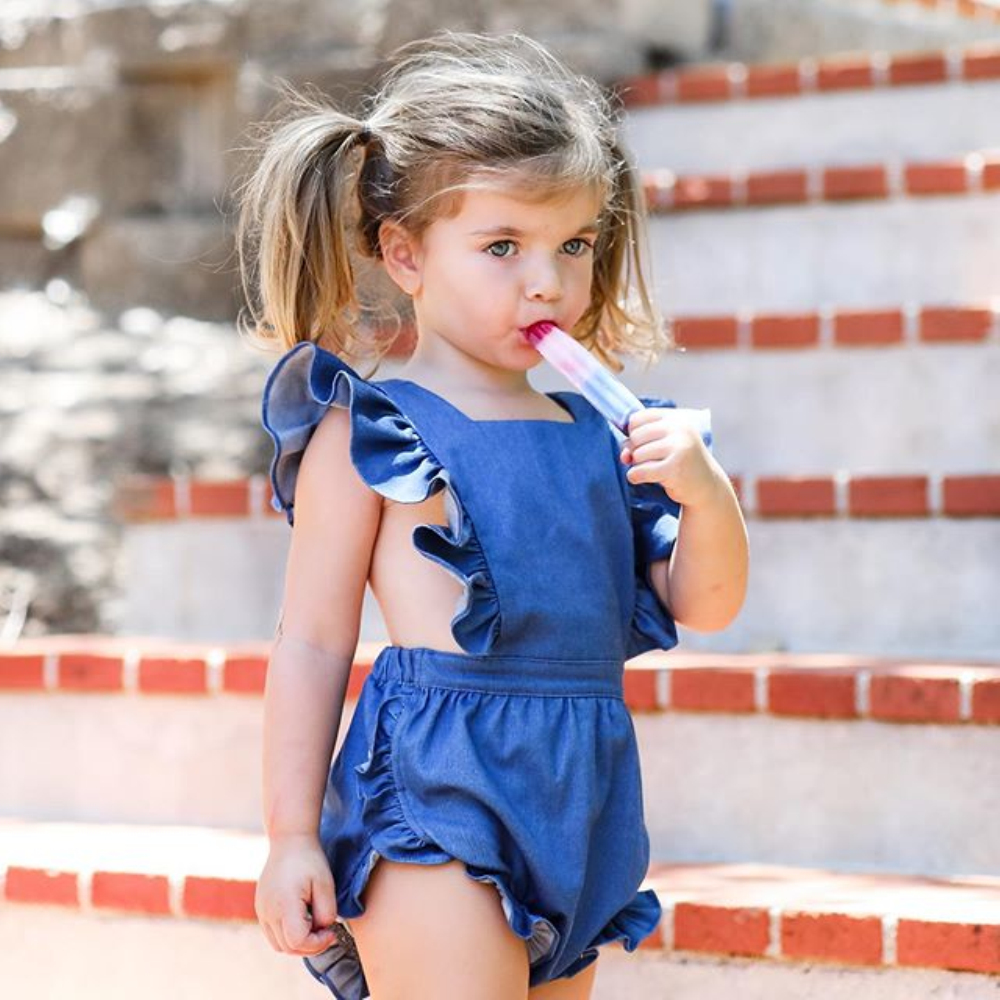 Pudcoco Baby Bodysuit 2020 Toddler Kids Baby Girls Ruffle Clothes Sleeveless One-piece Jumpsuit Summer Outfits