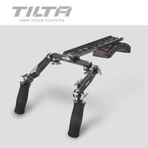 Shoulder-Mount-System Camera Rig Tilta MINI with Front-Handgrip-Handle-Kit for Scarlet/red-One