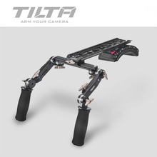 Tilta TT 0506 스칼렛/레드 원 MX/알렉사 미니 카메라 용 프론트 핸드 그립 핸들 키트가있는 15mm/ 19mm 숄더 마운트 시스템