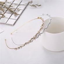 Женский модный обруч для волос 1 шт головная повязка невесты