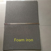 Pure foam iron/Battery electrode material iron foam/High temperature resistant filter sponge iron experimental material