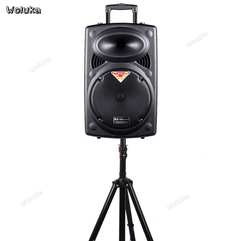 Floor-tripod 180CM Steel Adjustable Universal SPEAKER Tripod BRACKET Mount Holder With Surround-sound Pull-rod Speaker CD50W05 G
