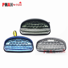 GUAIMI LED Rear Turn Signal Tail Stop Light Lamps Integrated For Honda CBR954 CBR954RR CBR900 CBR900RR 2002-2003