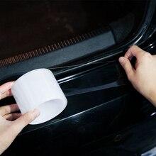 Автомобильная наклейка s, автомобильная наклейка для двери, наклейка протектор, многофункциональная нано лента, автомобильная полоса для бампера, защита двери автомобиля