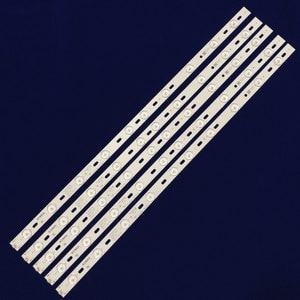 Image 3 - 100% חדש KONKA KL32GT618 LED תאורה אחורית 35017727 10 נוריות 64.4cm 1 סט = 2 חתיכות