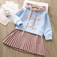 купить Girls Dress Autumn New White Princess Denim Dress Full Sleeve Cotton Children kids dresses for girls Clothes 2-7Years 40 по цене 539.94 рублей
