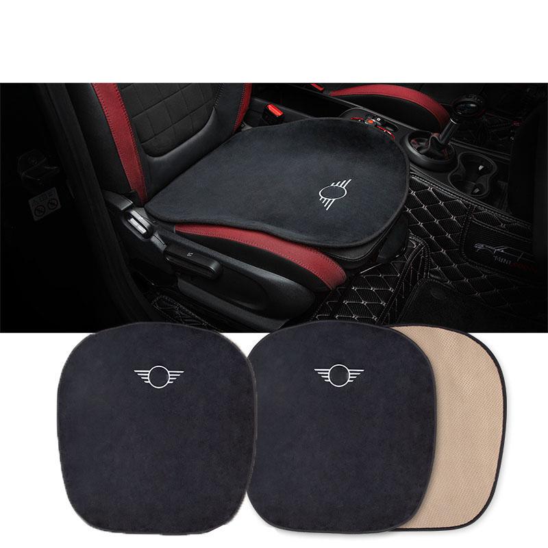 For Mini Cooper R50 R53 R55 R56 R60 R61 F54 F55 F56 F60 Car Plush Warm Seat Cushion Cover Seat Pad Mat Car Accessories