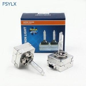 Image 2 - Hid lampadina D1S D2S D3S D4S xenon HID faro lampadine AC 12V 4300K 5000K 6000K 8000K D4S D3S D1S D2S CBI lampadina del faro Allo Xeno lampada