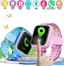 Q80 Anti-lost Children Kids Smart Watch Bracelet SOS Call GPS LBS SIM Alarm GIFT