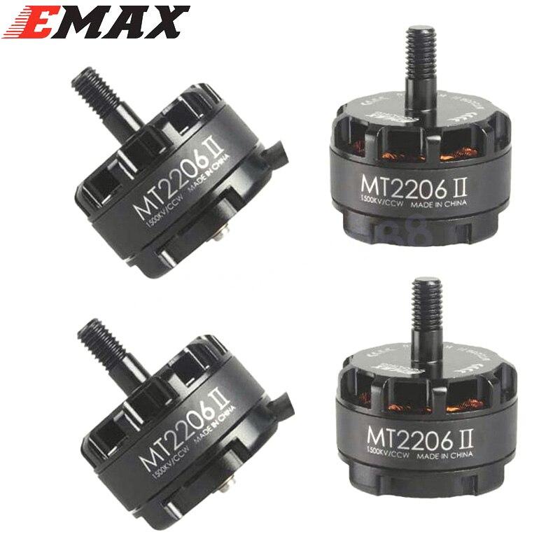 Emax Cooling New MT2206 II 1500KV 1900KV Brushless Motor 2 CW 2 CCW For RC QAV250 F330 Multicopter Wholesale