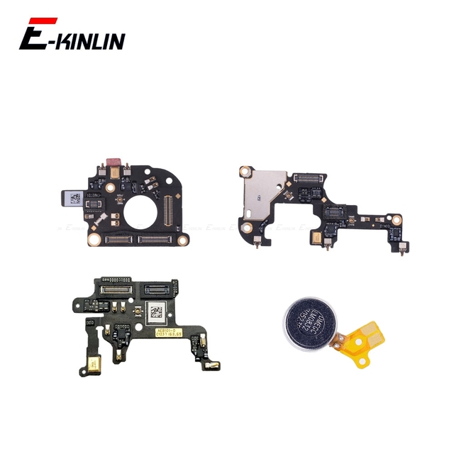 Mikrofon Modul Für OnePlus 1 2 3 3T 5 5T 6 6T 7 Vibrator Motor Mic Flex kabel Ersatz Teile