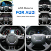 対気速度アウディA1 A4 A5 A6 A7 A6L Q3 Q5 Q2L Q5L Q7 アクセサリー特別な車のステアリングホイールボタンカバーステッカーインテリアトリム