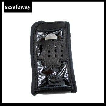 Walkie Talkie Leather Case Two Way Radio Bag For BAOFENG Portable Radio POUCH FOR  UV-5R UV-5RE UV-5RA Plus UV-5RB UV-5RC