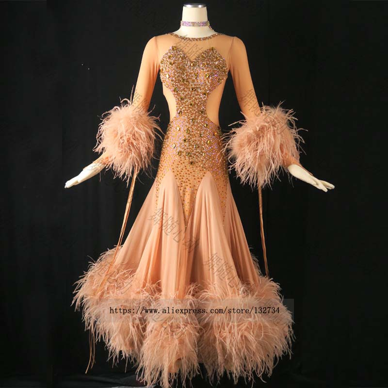 2019 Of New Ballroom Costumes Standard Ballroom Dancing Dresses Waltz Flamenco Dress Costume Swing Dance Costumes Dance Wear