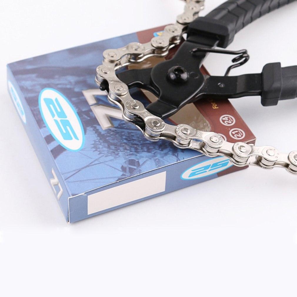 Велосипедный цепной зажим с кнопкой быстрого соединения крепление на заклепках ремонт удаление установка плоскогубцы инструмент для ремонта велосипеда