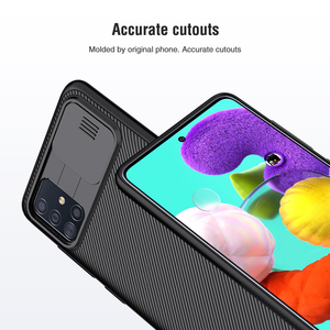 Image 3 - for Samsung Galaxy A51 Case Nillkin Slide Camera Protection Cover for Samsung Galaxy A71 M51 M31S A42 5G Case