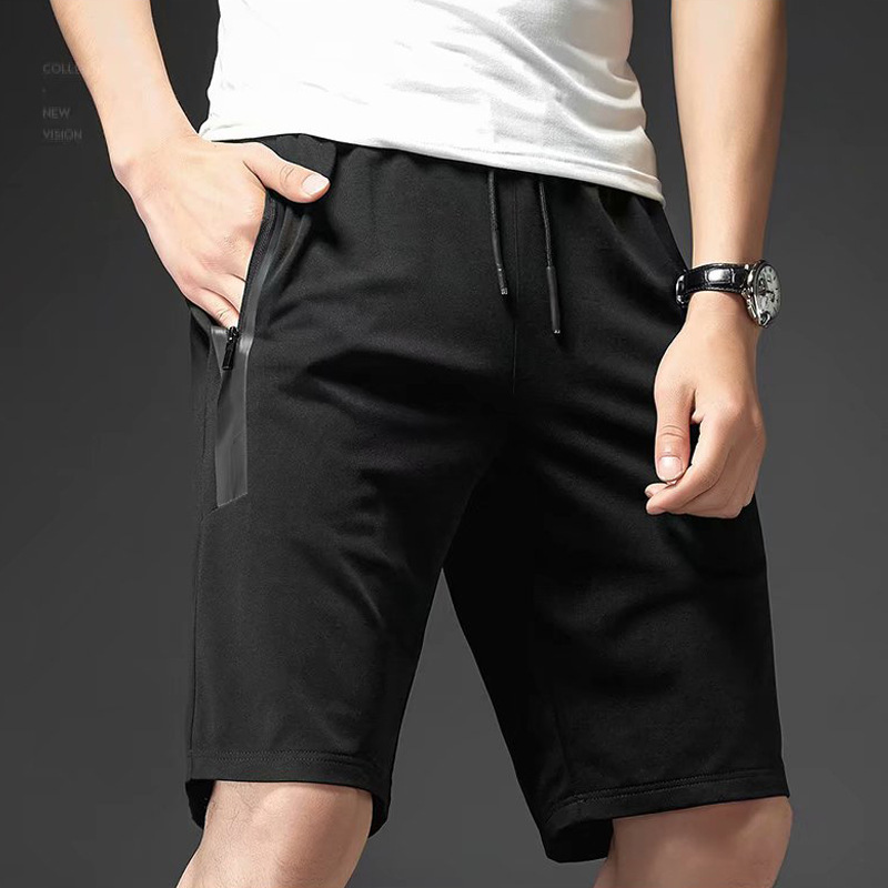 Shorts Male Fifth Pants Summer Shorts Casual Beach Shorts Men's Summer Youth Korean-style Elasticity Trend Breeches