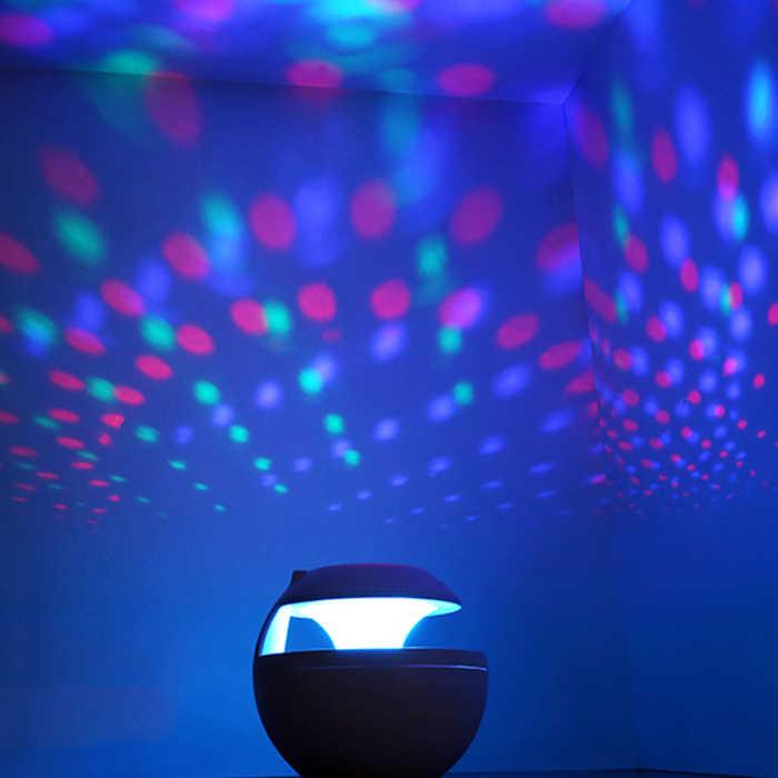 Холодный увлажнитель воздуха, 7 светодиодный проектор с цветным освещением 500 мл увлажнитель воздуха Настольный Ароматический диффузор ультразвуковой тумана LE