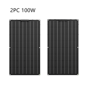Image 3 - Painel solar flexível etfe de alta qualidade, 300w, igual a 3 peças de 100w, painel solar, célula 12 carregador de bateria solar v