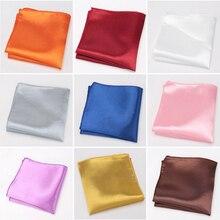 Мужской платок, галстуки для мужчин мода платки полиэстер платок карман квадратных бизнес-полотенце на груди галстучек подарки аксессуары галстук