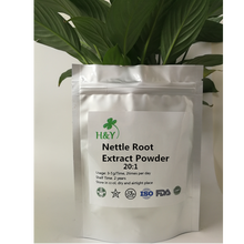 150-1000g Free Shipping High Quality Nettle Root Extract/ Urtica Nettle Root Extract Powder 20:1 In Stock top quality dandelion extract dandelion root extract