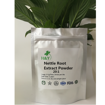цена на 150-1000g Free Shipping High Quality Nettle Root Extract/ Urtica Nettle Root Extract Powder 20:1 In Stock