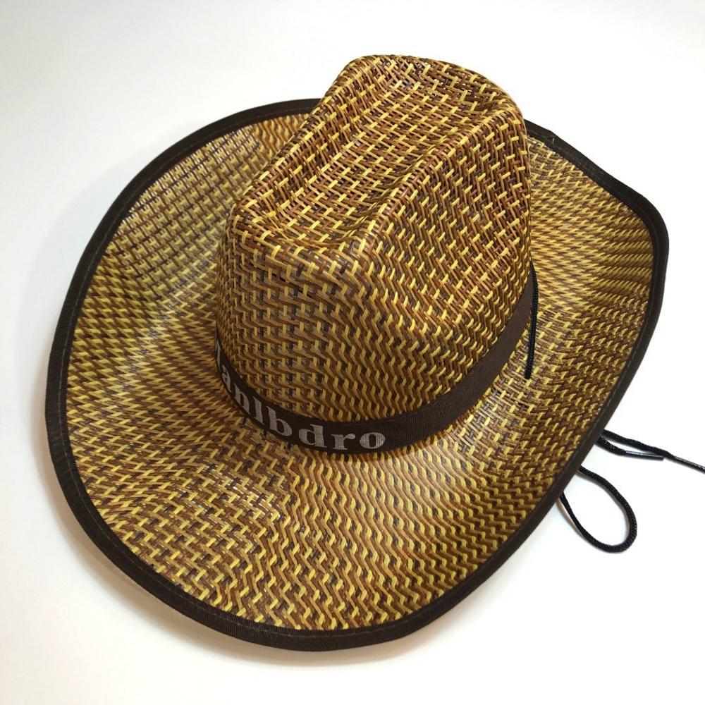Unisex Hat Panama Straw Fedora Trilby Cap Foldable Travel Brim Wide Mens Ladies Fedora Cowboy Summer Hats 2020