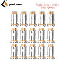 Oryginalny Geekvape Aegis Boost cewki 0 4ohm i 0 6ohm 5 sztuk-20 sztuk końcówki zamienne do Geekvape Aegis Boost pod zestaw E papieros tanie tanio GeekVape Aegis Boost Replacement Coils Geekvape Aegis boost kit DS Dual 0 4ohm KA1 mesh coil(25-33W) 0 6ohm KA1 mesh coil(15-25W)