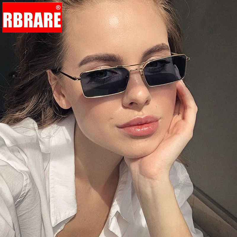 RBRARE Luxury Brand Designer Sunglasses Women 2019 High Quality Square Sunglasses Women Gothic Glasses Vintage Oculos Feminino