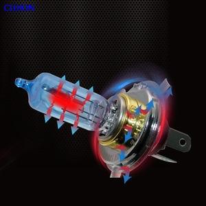 Image 4 - 4 STUKS Halogeen Lamp H4 12V 100/90W 5000K Xenon Donkerblauw Glas Auto Koplamp Lamp super Wit