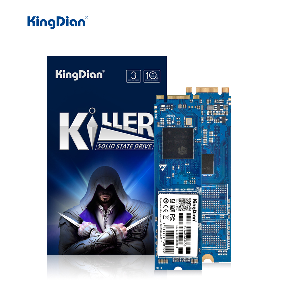 KingDian M.2 SATA SSD 120GB 240GB 512GB SSD M2 1TB M.2 2280 SSD 128GB 256GB Internal Solid State Drive For Laptop