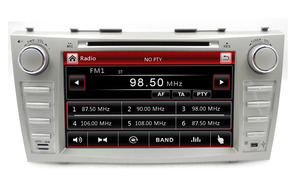 """8"""" Capacitive touch screen 2din car dvd player gps navi radio tape recorder for toyota camry 2008-2011(China)"""