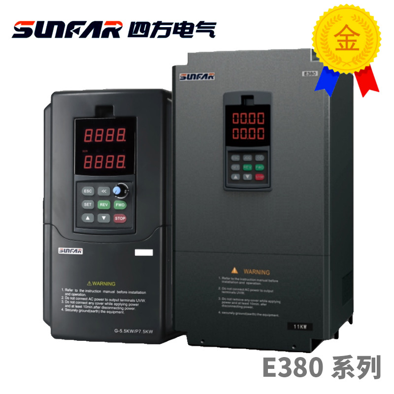 Sunfar vfd e380 VS500-4T0037G/0055 p inversor, e380 cnc roteador inversor de freqüência para eixo