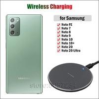 Ricarica Wireless veloce da 10W per Samsung Galaxy Note EF 7 8 9 10 20 caricabatterie Wireless Ultra Plus Note 10 + Qi