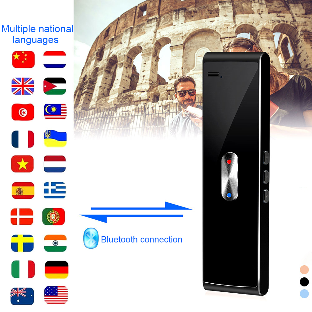 40+ Multi-Language Translation Smart Voice Speech Translator Two-Way Real Time For Learning Travelling Business Meeting nEW image