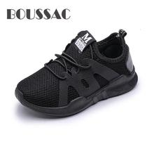 цены Kids Shoes For Boys Girl Children Casual Sneaker Air Mesh Soft Running Sports Shoe Black Red Trainers Kids Sneakers Child Enfant