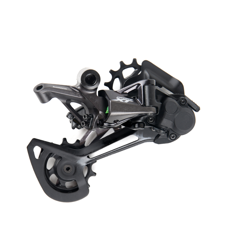 NEW Shimano DEORE XT RD-M8100/RD-M8120 SGS 1x12/2x12 Speed Shadow RD+ MTB Bicycle Derailleur Long Cage image